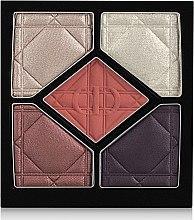 Духи, Парфюмерия, косметика Тени для век - Christian Dior 5 Color Eyeshadow (тестер без коробки)