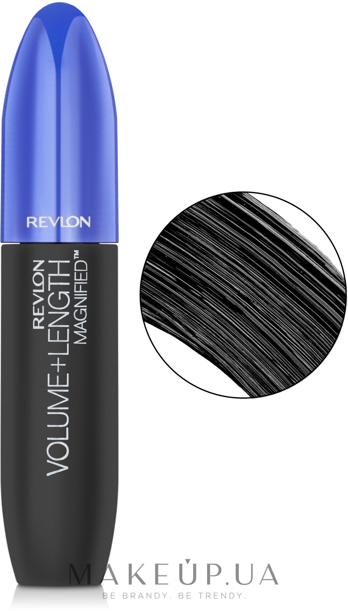 Тушь для ресниц - Revlon Volume + Length Mascara — фото 301- Blackest Black