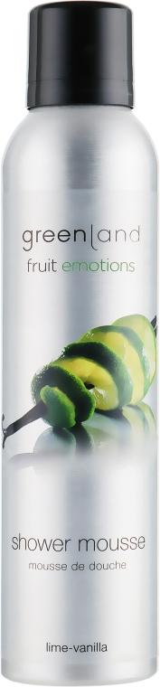 """Мус для душу """"Лайм-Ваніль"""" - Greenland Shower Mousse Lime-Vanilla — фото N1"""