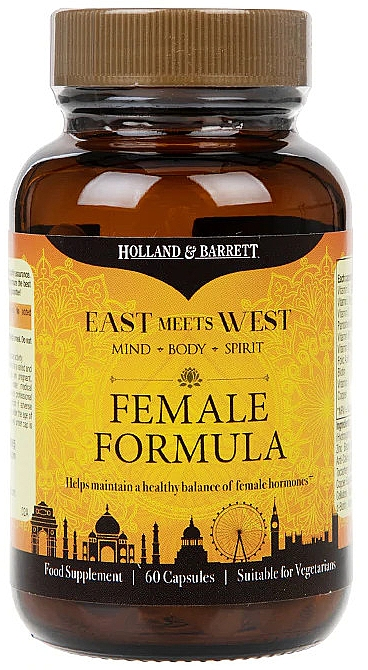 Пищевая добавка для женщин - Holland & Barrett East Meets West Female Formula