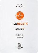 Духи, Парфюмерия, косметика Восстанавливающая маска для лица с экстрактом плаценты - Bonny & J 1954 Mask Pack