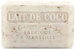 """Духи, Парфюмерия, косметика Марсельское мыло """"Кокосовое молоко"""" - Foufour Savonnette Marseillaise"""
