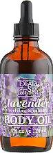 Духи, Парфюмерия, косметика Масло для тела с минералами Мертвого моря и маслом лаванды - Dead Sea Collection Lavender Body Oil