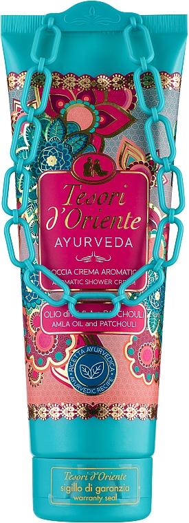 Парфюмированный крем-гель для ванны, масло амлы и пачули - Tesori d`Oriente Ayurveda