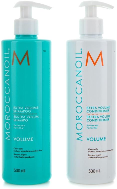 "Набор "" Extra Volume"" - MoroccanOil (sham/500ml + cond/500ml)"