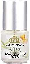 Духи, Парфюмерия, косметика Масло для ногтей - LCN SPA Macadamia Nail Oil