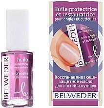 Духи, Парфюмерия, косметика Восстанавливающе-защитное масло для ногтей и кутикул - Belweder Cuticle Oil