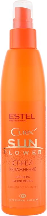 """Спрей """"Увлажнение и защита"""" с UV-фильтром - Estel Professional Curex Sunflower"""