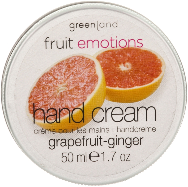 "Крем для рук ""Грейпфрут-Имбирь"" - Greenland Fruit Emotion Hand Cream"