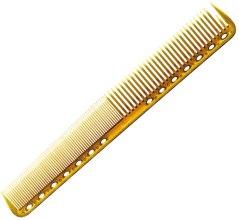 Духи, Парфюмерия, косметика Расческа для стрижки с плоскими зубцами, 180мм, желтая - Y.S.Park Professional 339 Cutting Combs Camel
