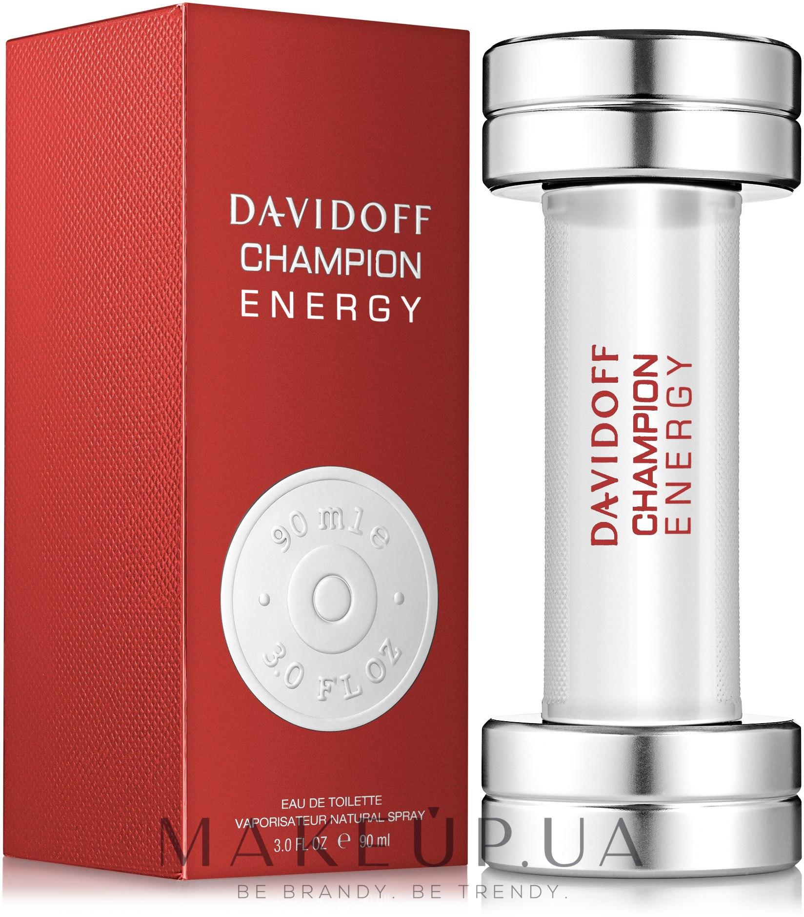 Makeup Davidoff Champion Energy туалетная вода купить по лучшей