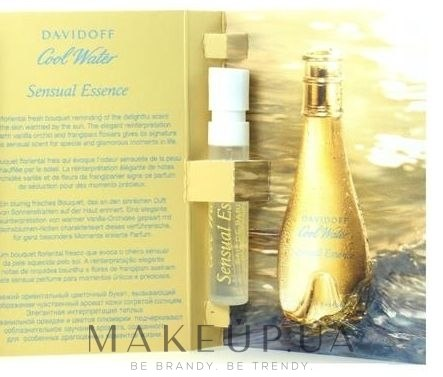 Makeup отзывы о Davidoff Cool Water Sensual Essence