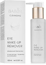 Духи, Парфюмерия, косметика Лосьон для демакияжа век - Babor Cleansing Eye Make up Remover
