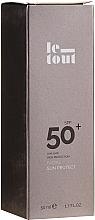 Духи, Парфюмерия, косметика Солнцезащитный крем для лица SPF 50 - Le Tout Facial Sun Protect