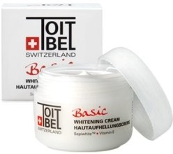 Духи, Парфюмерия, косметика Крем осветляющий - Toitbel Basic Whitening Cream