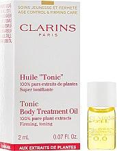 """Тонизирующее масло - Clarins Body Treatment Oil """"Tonic'"""" (пробник) — фото N1"""