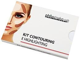 Духи, Парфюмерия, косметика Набор для контуринга - Cinecitta Phitomake-Up Professional E-Hightlighting Kit Contouring