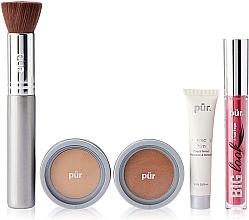 Духи, Парфюмерия, косметика Набор - Pur Minerals Best Sellers Starter Kit Light Tan (primer/10ml+found/4.3g+bronzer/3.4g+mascara/5g+brush)
