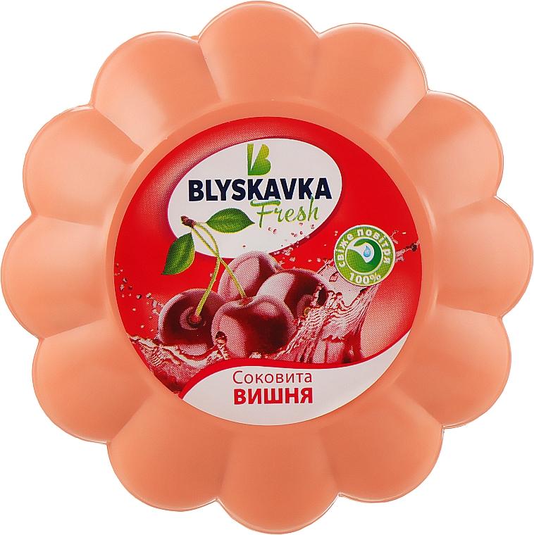 """Освежитель гелевый """"Сочная вишня"""" - Blyskavka Fresh"""