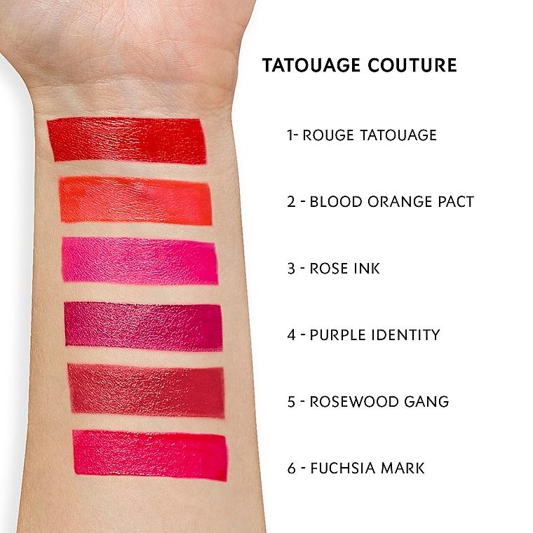 Матовая помада-татуаж для губ - Yves Saint Laurent Tatouage Couture — фото N2