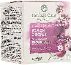"Крем укрепляющий для лица ""Черная орхидея"" - Farmona Herbal Care Cream — фото N2"