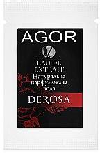 Парфумерія, косметика Agor Derosa - Парфумована вода (пробник)