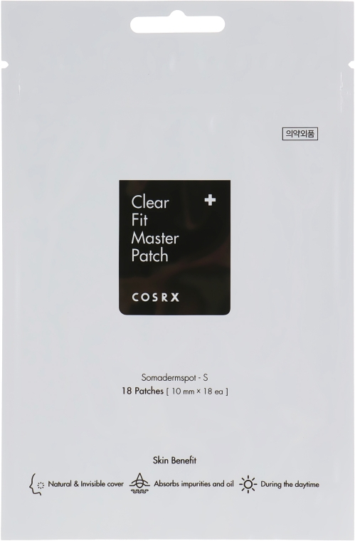 Патчи от акне - Cosrx Clear Fit Master Patch