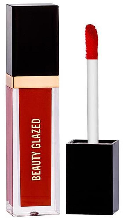 Жидкая матовая помада для губ - Beauty Glazed Matte Liquid Waterproof Lipstick