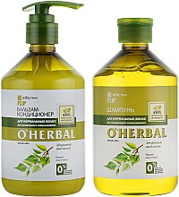Духи, Парфюмерия, косметика Набор для нормальных волос - O'Herbal (shmp/500ml + con/500ml)