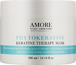 Духи, Парфюмерия, косметика Концентрированная маска с фитокератином для реконструкции поврежденных волос - Amore Phytokeratine Mask