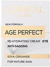 Духи, Парфюмерия, косметика Увлажняющий крем для кожи вокруг глаз - L'Oreal Paris Age Perfect Re-Hydrating Eye Cream