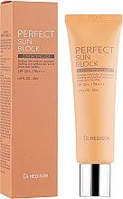 Духи, Парфюмерия, косметика Солнцезащитный крем для лица - Dr.Hedison EGF Perfect Sun Block SPF50+/PA+++