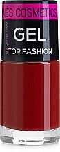 Духи, Парфюмерия, косметика Лак для ногтей - Ines Cosmetics Gel Top Fashion