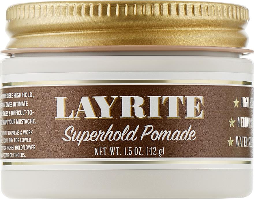 Помада для укладки волос - Layrite Super Hold Pomade