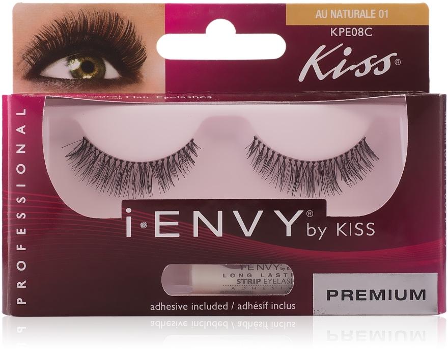 """Накладные ресницы """"Очарование"""" - Kiss IEnvy Eyelashes Au Naturale 01"""