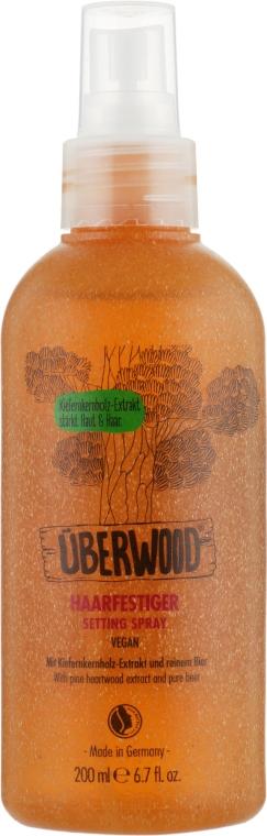 Фиксирующий спрей для укладки волос - Uberwood Setting Spray