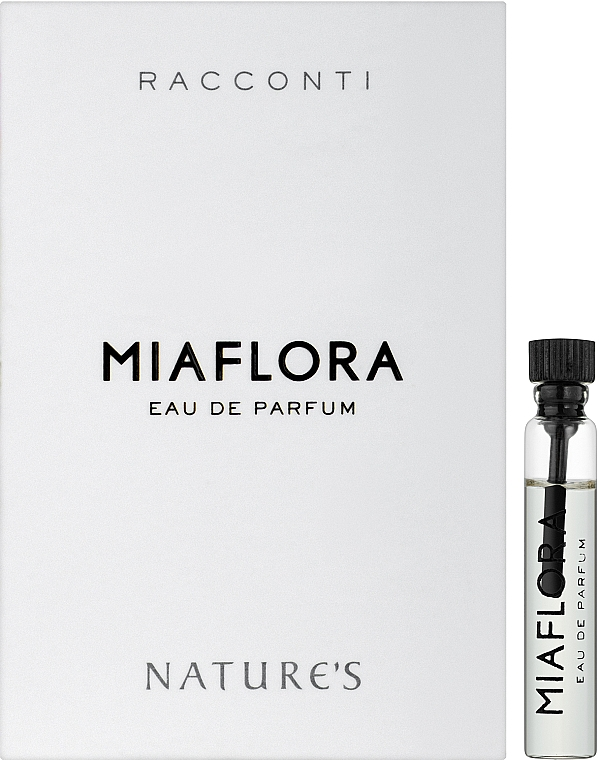 Nature's Racconti Miaflora Eau De Parfum - Парфюмированная вода (пробник)