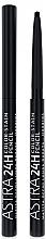 Духи, Парфюмерия, косметика Стойкий карандаш для глаз - Astra Make-up 24H Color Stain Pencil