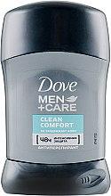 "Духи, Парфюмерия, косметика Дезодорант-стик ""Экстразащита и уход без белых следов"" - Dove Men+ Care Clean Comfort Antiperspirant Deodorant Stick"