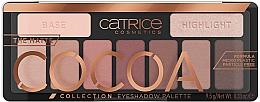 Духи, Парфюмерия, косметика Палетка теней для век - Catrice The Matte Cocoa Collection Eyeshadow Palette