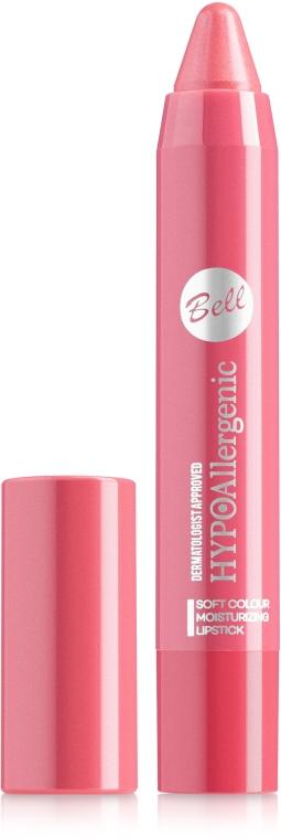 Гипоаллергенная помада-карандаш для губ - Bell Hypoallergenic Soft Colour Moisturizing Lipstick