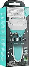 Духи, Парфюмерия, косметика Станок + 1 сменный картридж - Wilkinson Sword Intuition Sensitive Care