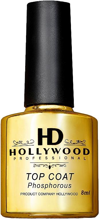 Топ для гель-лака - HD Hollywood Rubber Phosphorus