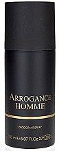 Духи, Парфюмерия, косметика Arrogance Pour Homme - Дезодорант