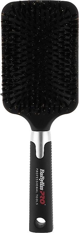 Щетка-расческа для длинных волос, с натуральной щетиной, широкая - BaByliss PRO BABBB1E