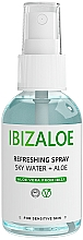 Духи, Парфюмерия, косметика Освежающая вода для тела и лица - Ibizaloe Sky Water Aloe Vera