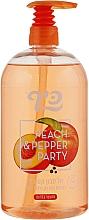 "Духи, Парфюмерия, косметика Жидкое мыло ""Персик и перец"" - Keff Peach & Pepper Party Soap"