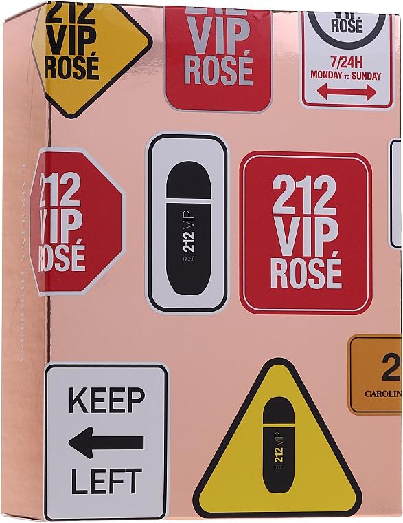Carolina Herrera 212 Vip Rose - Набор (edp/80ml + edp/10ml)