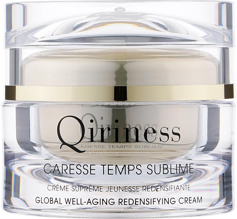 Антивозрастной, восстанавливающий крем комплексного действия, натуральная линия - Qiriness Caresse Temps Sublime Global Well-Aging Redensifying Cream