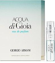 Духи, Парфюмерия, косметика Giorgio Armani Acqua di Gioia - Парфюмированная вода (пробник)